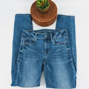 American eagle skinny jeans stretchy